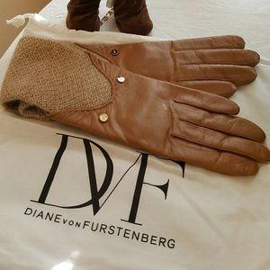 🎄DIANE VON FURSTENBERG😍Winter Gloves