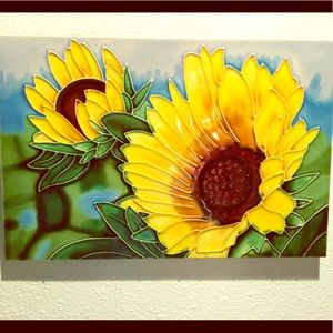 Other - Sunflower Wall Tile