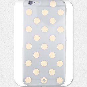 kate spade Le Pavillion Polka-Dot iPhone 6+ Case