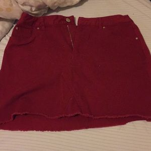 Women's forever 21 mini skirt