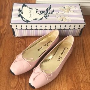 London sole ballet sneaker light pink