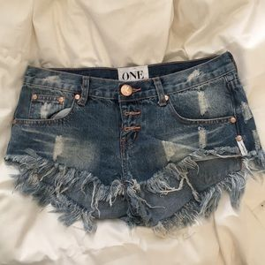 Pants - One Teaspoon Bonitas shorts