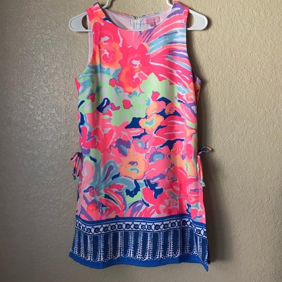 b1b932672e49 Lilly Pulitzer Dresses   Skirts - Lilly Pulitzer Donna Romper Shift Dress