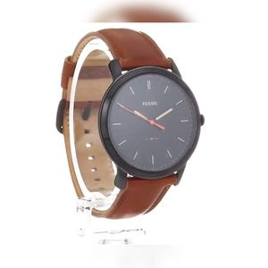 fossil minimalist threehand watch
