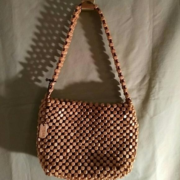 f9243c726c3 The Sak wooden beaded purse.
