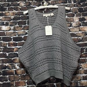 Inhabit size P gray knitwear