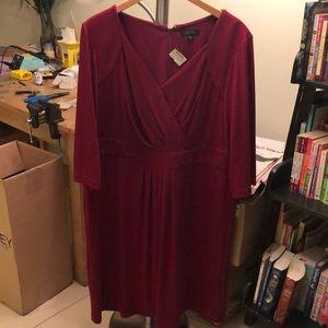 Tahari - brand new - burgundy beautiful dress
