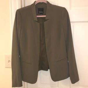 Olive blazer -LIKE NEW