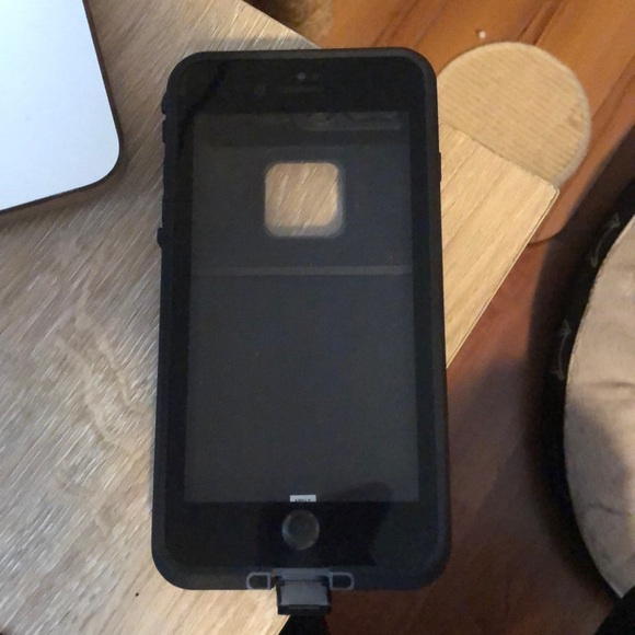 LifeProof Accessories - Black Lifeproof iPhone 7 Plus Case with Popsocket 63ef4d99cf