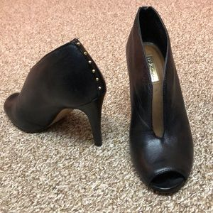 Halogen Katrina black bootie.    Size 7