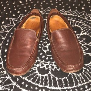 TIMBERLAND LEATHER SLIP ON SHOES LOAFERS LADIES 8
