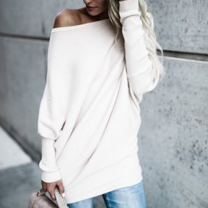 NWT Ribbed Off-the-shoulder Sweater from Vici