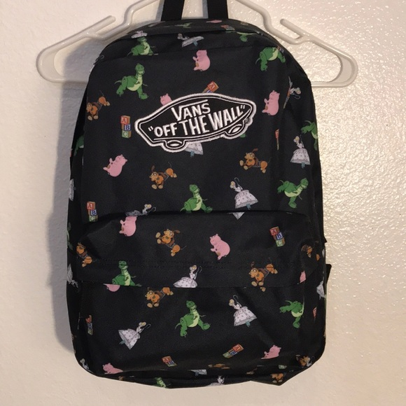 Vans Disney Toy Story Backpack. M 5a1e008dc284562efe13594d