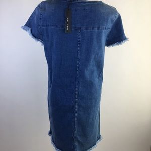 187c255e72 Max Jeans Dresses - Max Jeans Denim Dress Size Small ✨NWT✨
