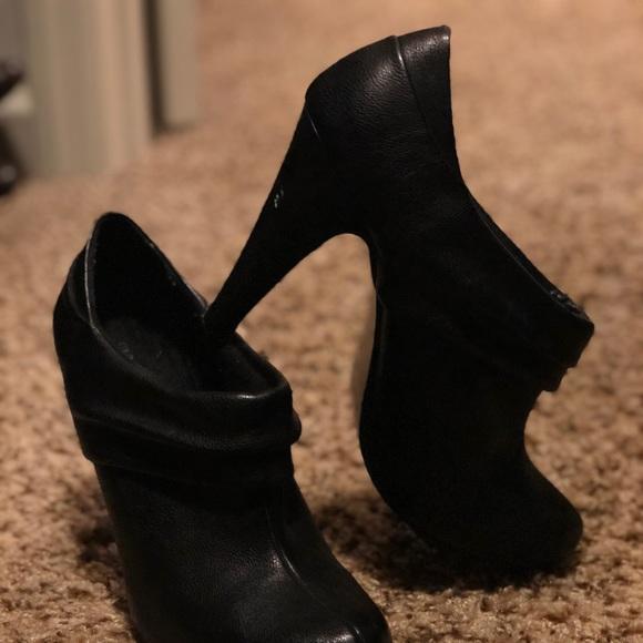 Black Low Cut Booties | Poshmark