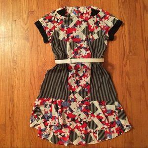 NWOT Peter Pilotto for Target belted dress