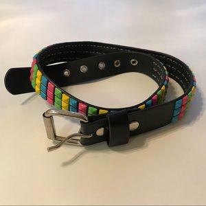 🎉HP🎉 Studded rainbow colored belt