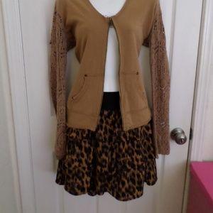 torrid Skirts - Torrid animal cat leopard 🐾 print Skirt