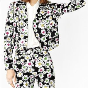 Nasty gal Floral jacket and jeans