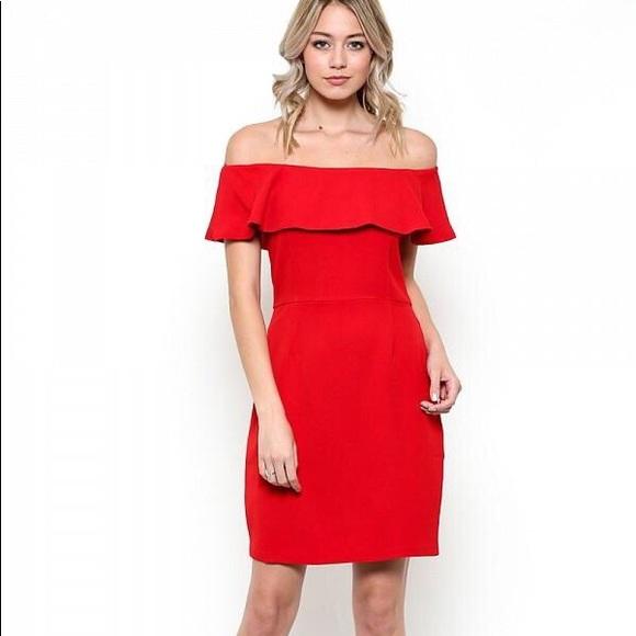 Esley Dresses & Skirts - Off the shoulder dress