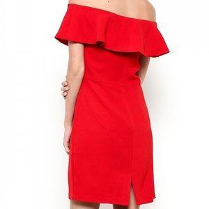 Esley Dresses - Off the shoulder dress