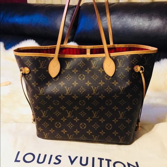 Louis Vuitton Bags   Neverfull Lv Monogram   Poshmark bc5f0e3b52