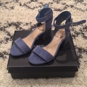 *NEVER WORN* Saks 5th Avenue Suede Heeled Sandals