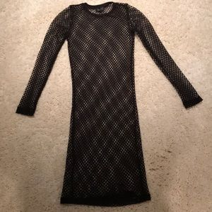 Topshop Fishnet Dress or Cover up