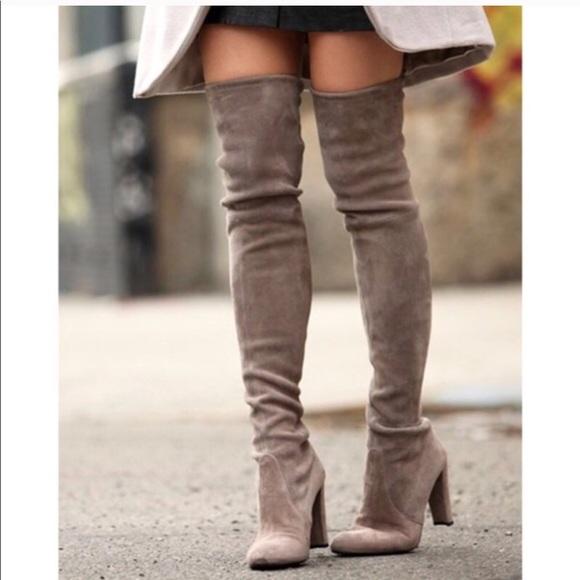 a85e088b184 ... Over the knee boots grey. M 5a1e0d722de512ed5613a0cd
