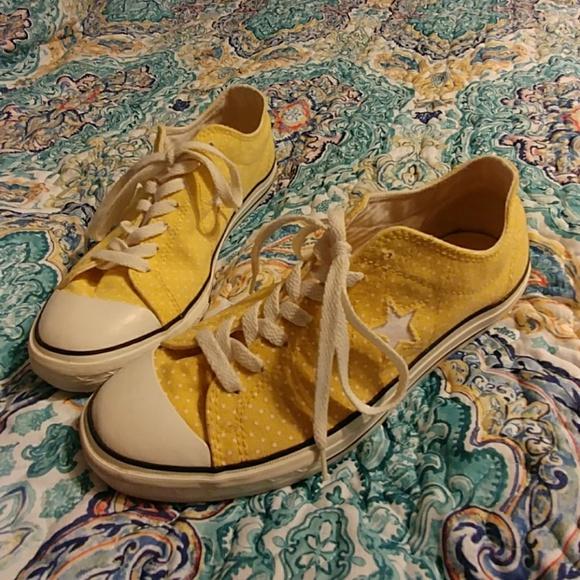 Converse Shoes   Womens Yellow Converse