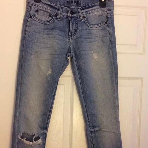 bebe Denim - Bebe destroyed jeans