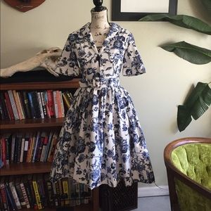 NWT Vintage Collection Pinup Tea Party Alice Dress