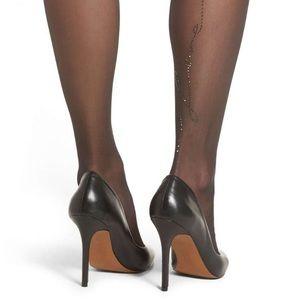 Brand new Wolford Swarovski stockings
