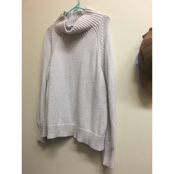 60% off Old Navy Sweaters - Cream Colored Cowl Neck Sweater - Old ...