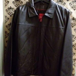 Izod Jackets & Coats - Men's Leather Jacket  sz xxl NWT