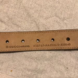 13aa05b38a6 Gucci Accessories - Toddler Gucci belt fits 1 to 4 year old