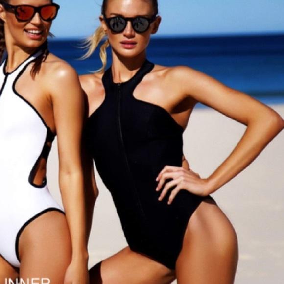 be4e6d50a2cee Bondi Born Swim | One Piece Black Suit New | Poshmark