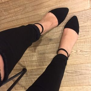 Jeffrey Campbell Shoes - Black ballet flats