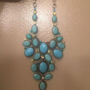 Sorrelli turquoise Statement necklace