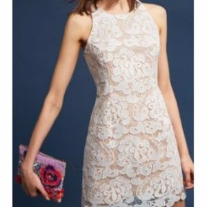 NEW Anthro x Eliza J Edynne Lace Sheath Dress