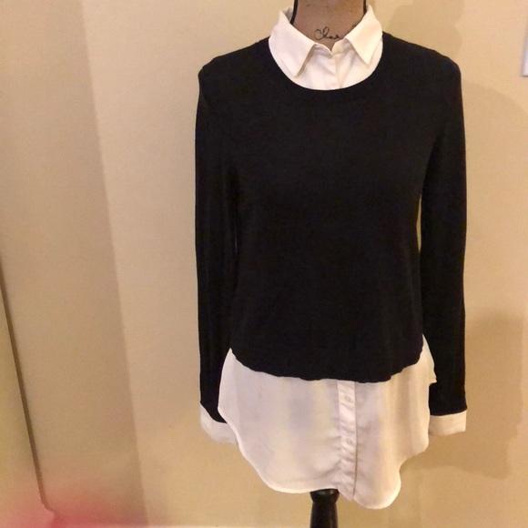 073618dd5b0 LOFT Sweaters - Loft 2 in 1 sweater blouse