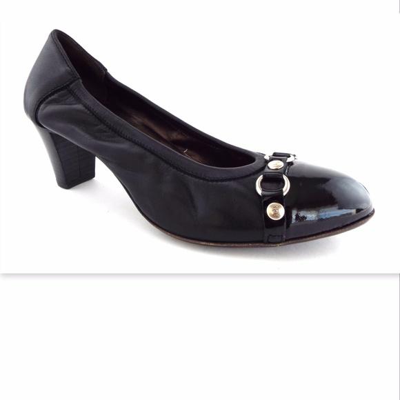 agl black pumps
