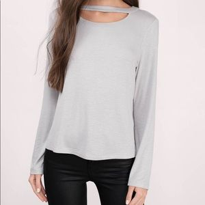 EUC ⭐️ Tobi The Difference Grey Top