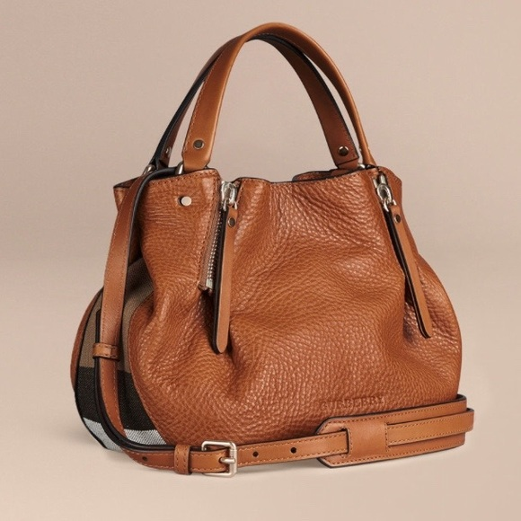 8f093f9bbd Burberry Bags | New Maidstone Small Leather Shoulder Bag | Poshmark