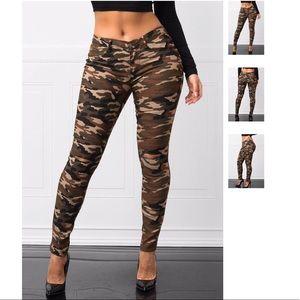 Pants - High Fashion Soft & Stretchy - Camo Legging/Pants