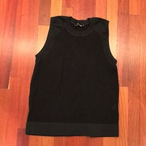 ❗️Sale❗️Rag and bone jean black sleeveless tank.