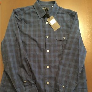 FiveFourClub Long Sleeve Casual Button Down