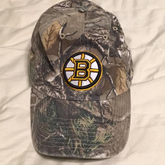 Boston Bruins Hat Camo