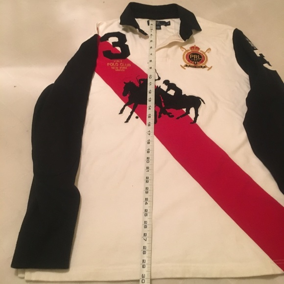 b694e7fdf ... reduced polo ralph lauren mercer club winter rugby shirt d910e f3e27
