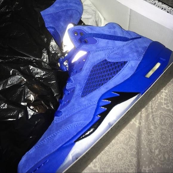 super popular 6947e 40d73 Jordan royal blue retro 5s NWT